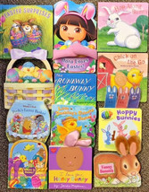 Toddler Board Books Lot of 12 , Dora, Chicks, Runaway Bunny, Little Duck... - $13.64
