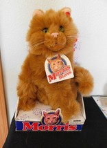 "12"" MORRIS THE CAT TALKING  ( 9 Lives)  2000 NEW NRFB - $68.31"