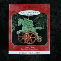 Hallmark Keepsake Ornament Santa Claus Turn of the Century Parade Die Ca... - $14.84