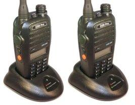 5 Watt UHF DSR-590 450-520MHz Two Way Radio - Battery Antenna Charger - ... - $212.32
