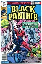 BLACK PANTHER #15 1978-JJack Kirby- Last issue NM - $55.87
