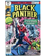 BLACK PANTHER #15 1978-JJack Kirby- Last issue NM - $55.87