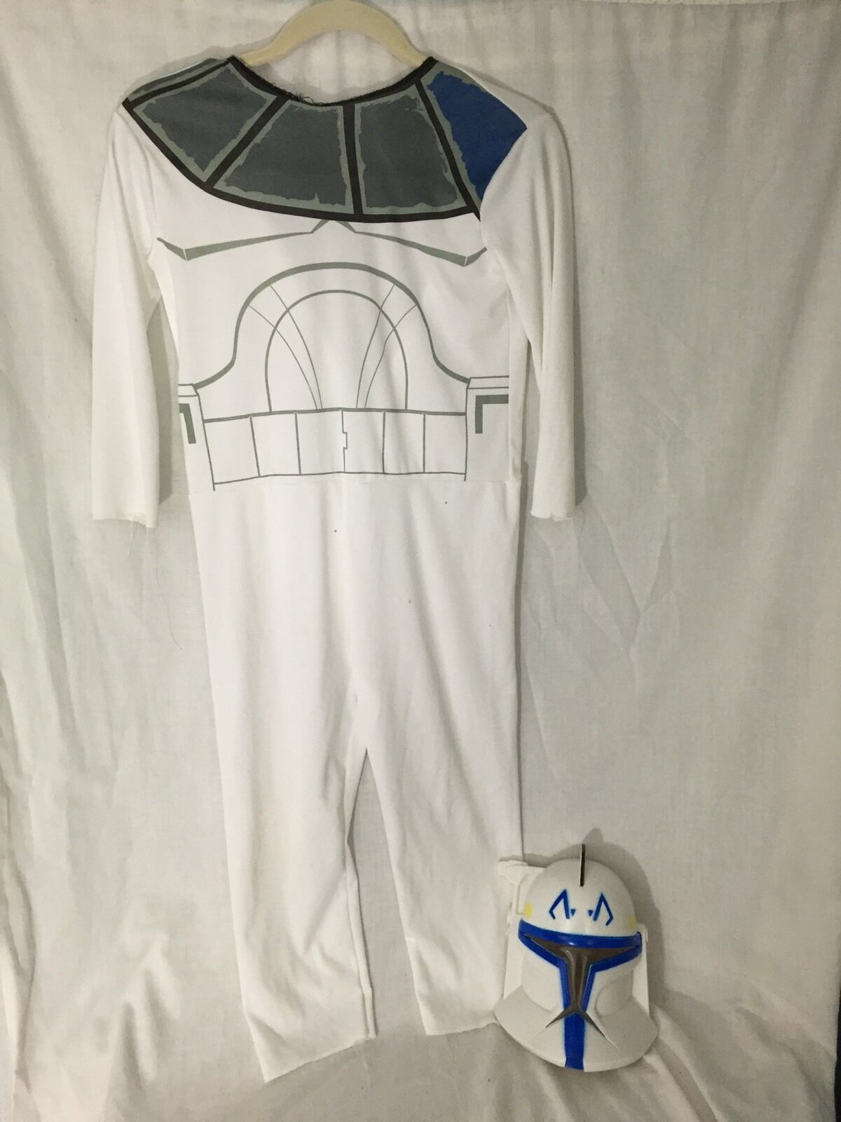 Star Wars Clone Trooper White Youth Young Youth Large 12/14 Halloween Costume