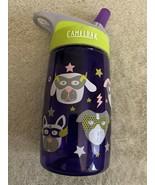 Camelbak Girls Purple Green Puppy Dog Mask Stars Water Bottle - $9.28