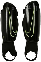 Nike Youth Charge 2.0 Soccer Shin Guard Black/Volt Size Small - £21.56 GBP