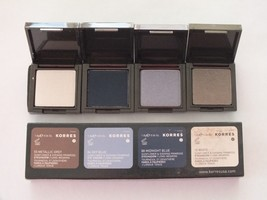 很多2 KORRES EYESHADOW QUAD SMOKY COLLECTION PALETTE-全尺寸-笔尖-$ 14.84