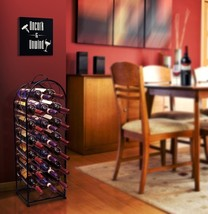 Wine Rack Stand Bordeaux Chateau Style - Holds 23 Bottles of Your Favori... - $49.99