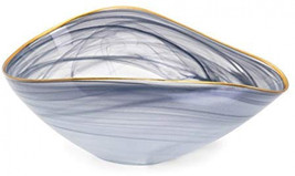 Imax 83906 Romero Glass Bowl, Gray - $48.70