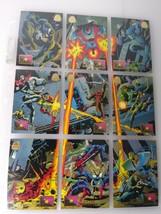 1994 Marvel Fall From Grace Fleer 9 Card Set #64-72 - $15.17