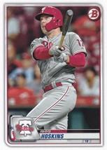2020 Bowman #12 Rhys Hoskins NM-MT Phillies - $0.99