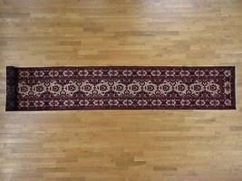 3'x19' 100 Percent Wool Hand Knotted Afghan XL Runner Oriental Rug G39485 - $1,354.32