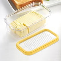 Stainless Steel Butter Slicer and Storage Box Cheese Cutter Kitchen Tool... - $13.85