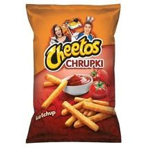 Cheetos Ketchup Flavoured Corn Crisps 165g Not Fried Jumbo Pack - $8.67