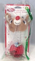 Kids Preferred Baby's First Christmas Rudoph Rainstick Rattle - $7.87