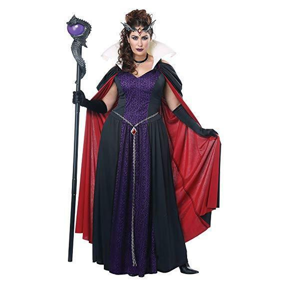California Costumes Evil Storybook Queen Plus Size Adult Halloween Costume 01789