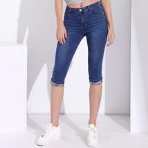Knee Length stretch capri jeans - $24.50