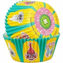 Trolls 50 Baking Cups Party Cupcakes Treats Wilton - $3.65