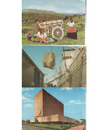 Three Costa Rica Postcards/ Blank Backs/ Not Stamped-Aged - $2.00