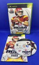 NCAA Football 2004 (Microsoft Original Xbox, 2003) CIB Complete, Tested! - $7.11