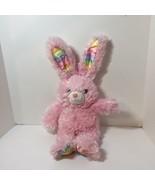 "Pink Bunny Rabbit Rainbow Ears Build a Bear Plush Stuffed Animal 21"" - $12.59"