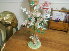 2001 Hallmark Flower Twig Branch Tree Boy w/ Kite Girl Looking At Birds ... - $14.70