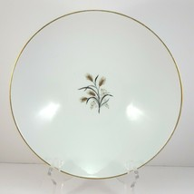 "Noritake Wheatcroft 5852 Round Vegetable Serving Bowl 8-7/8"" White and Gold - $17.60"