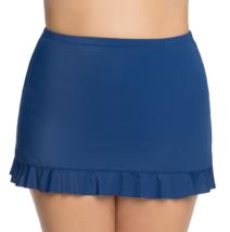St. John's Bay Ruffle Skirt Swimsuit Bottoms Size 8, 10, 12, 14, 16, 18 Marine   - $21.99