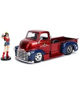 "DC Comics Bombshells 1:24 1952 Chevy COE Pickup Die-cast Car with 2.75"" ... - $17.86"