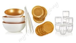 Tupperware Chic Dining 19 - Piece Serving Collection - $225.00