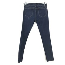 J Brand Damen Größe 24 Skinny Knöchel Jeans mit Dunkel Gewaschener Denim Blau image 2
