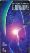 Star Trek: Generations Vhs image 1