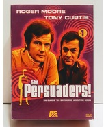 THE PERSUADERS! 70s TV Classic Series 4-Disc Tony Curtis Roger Moore DVD... - $35.00