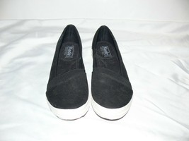 Keds Ortholite Tennis Shoe Black Slip On Womens Size 6.5 US nb - $12.99
