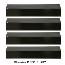 Hisencn 15 3/8 Inch Heat Plate for Brinkmann 810-3660-S, 4-pack heat plates - $12.60