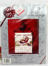 Candamar Designs Something Special Santa Advent Calendar Counted Cross Stitch  - $19.79