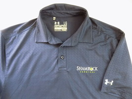 Under Armour Polo Shirt Size Large Shamrock Surgical Lucky Ss Stretch Doctor - $23.26