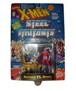 X-MEN STEEL MUTANTS ACTION FIGURE 1994 DIE CAST METAL PROFESSOR X VS MAG... - $15.34