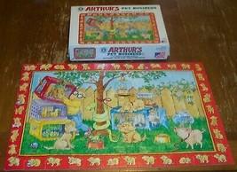 Arthur Aardvark ARTHUR'S PET BUSINESS JIGSAW PUZZLE 60 Pieces With Box 1993 - $19.80
