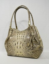 NWT Brahmin Judith Leather Tote / Shoulder Bag in Barley Melbourne - $349.00