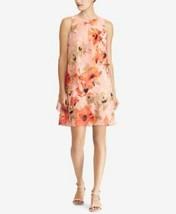 LAUREN RALPH LAUREN PINK FLORAL DRESS 2 # K 174 - $39.59