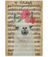 Schottish Lyrics Sheet Multisize Poster, Llamas Wall Decor Painting For ... - $25.59+