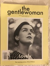 The Gentlewoman Magazine Autumn Winter 2011 Olivia Williams cover back i... - $39.99