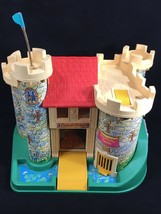 Vintage 1974 Fisher Price Little People 993 Play Family Castle - $56.37