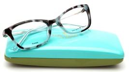 NEW Kate Spade DELACY RRS Blue Havana Eyeglasses Frame 50-18-130mm - $83.29