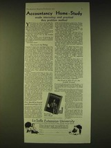 1933 LaSalle Extension University Ad - Accountancy Home-Study - $14.99