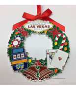 Welcome To Las Vegas Sign Christmas Tree Holiday Hanging Ornament Wreath... - $6.99