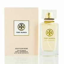 Tory Burch Jolie Fleur Rose 3.4oz.Eau De Parfum for Women. New in Sealed... - $59.95