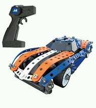 Meccano RC Muscle Build A Remote Control Race Car Racing Building Create... - $88.83