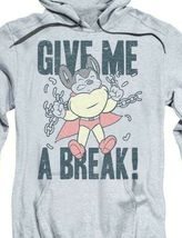 Mighty Mouse Give Me A Break retro cartoon superhero pullover hoodie CBS1587 image 3