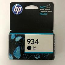 2019 Genuine HP 934 Black Officejet 6812 6815 6230 6820 6835 6830 Brand New 2019 - $10.89